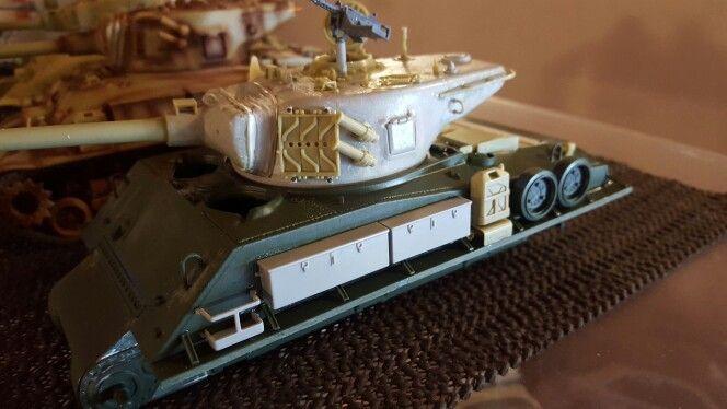 Academy ISRAELI M51 Sherman Welded hull version conversion  wip