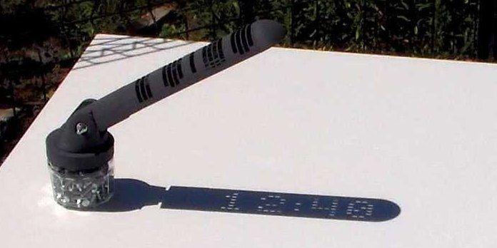 Цифровые солнечные часы сочетают 3D-печать с древней изобретательностью