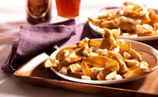 Epicure's Poutine. A Quebecois classic made in minutes at home!