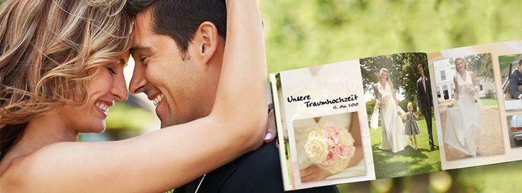 Der schönste Tag Eures Lebens im CEWE FOTOBUCH festhalten: http://www.cewe-fotobuch.de/ #Hochzeit