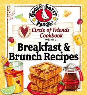 Free Gooseberry Patch e-Cookbook: 25 Breakfast & Brunch Recipes! #recipes