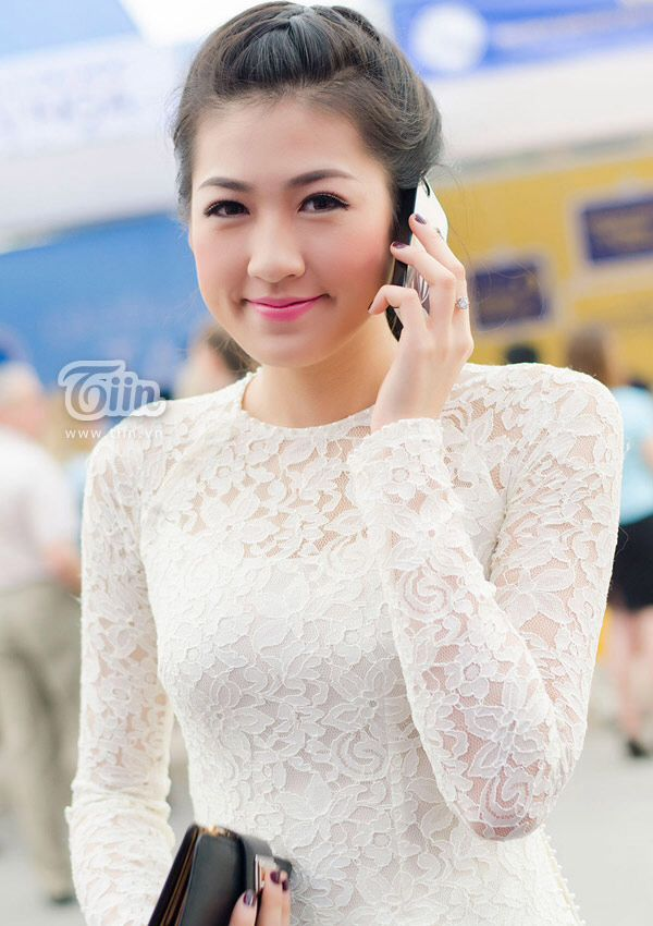 25 Best Ideas About Lace Ao Dai On Pinterest Casual