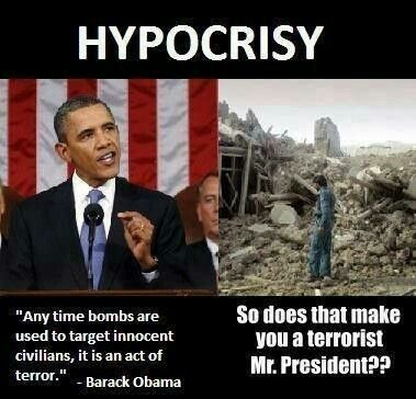Obama is a terrorist for arming the zionest Israeli and supporting the massacres in Gaza.