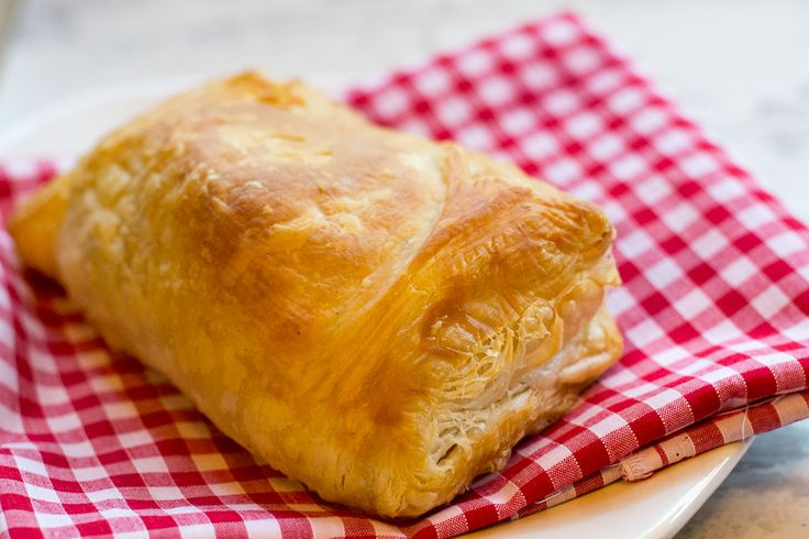 Vegan haggis pasty