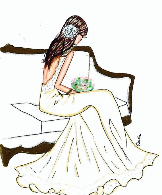 Bride and Lace by Melsys on Etsy, $25.00