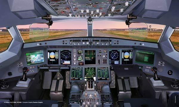 PHOTO | Airbus #A350 cockpit...#aviation #technology #avionics #avgeek