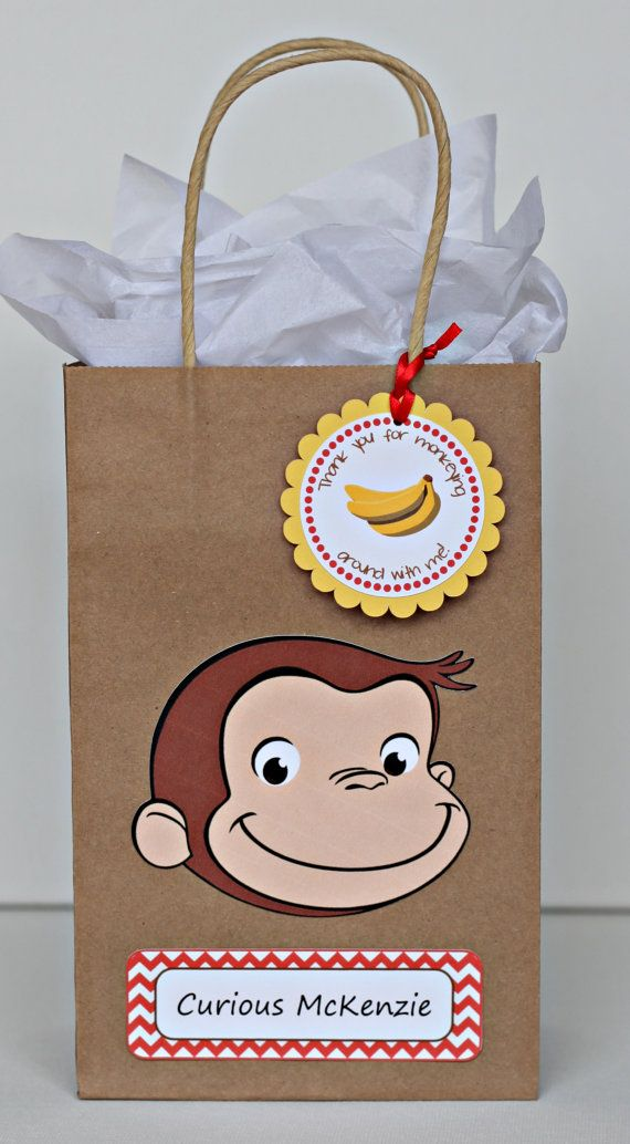 Curious George birthday party goody bags / by ILoveYouBunches