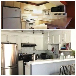 Kitchen before and after (With images) | Rearranging ...