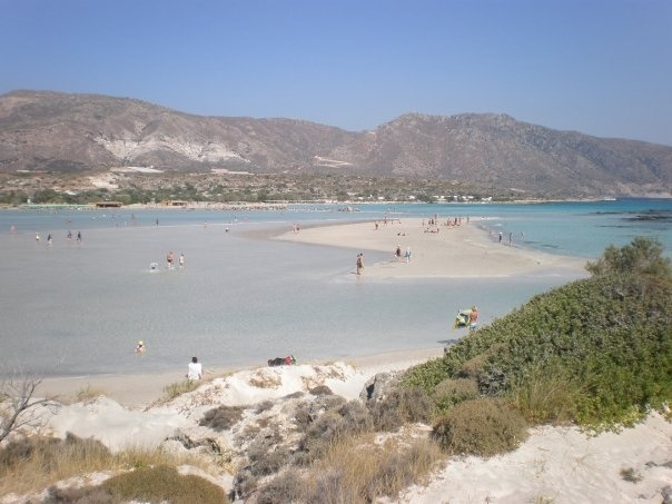 At the east side of Crete... a perfect place to experience the touch of God