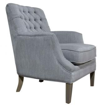 PORTER CLUB CHAIR LT GREY. A Block and Chisel Product.