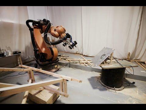 Fusta Robotica - Large Scale Robotic Manufacturing - YouTube