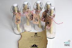 Piraten Party Einladung Flaschenpost // Pirate Party invitation