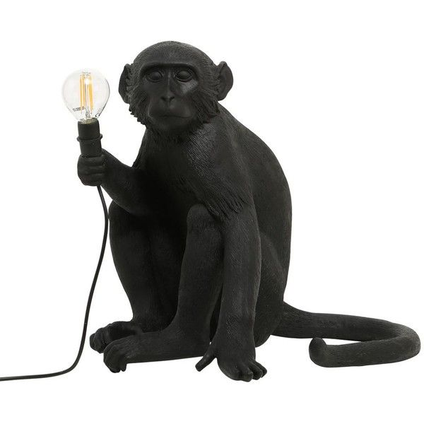 Seletti Home Sitting Monkey Lamp 330 Liked On Polyvore Featuring Lighting