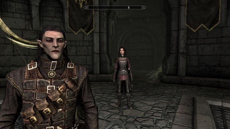 I was really digging how my wood elf looked as a vampire (ft. Serana) #games #Skyrim #elderscrolls #BE3 #gaming #videogames #Concours #NGC