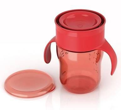 Philips AVENT Natural Drinking Cup - perfect for toddlers transitioning from a bottle! Love this!