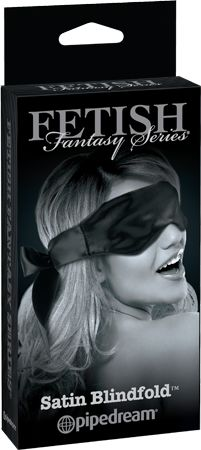 Create thrilling sexual excitement with this beautiful Black Fetish Fantasy Satin Blindfold. Try it on your lover or use it as a nightshade for yourself. When you put it on your partner, it softly covers their eyes, keeping your lover in a pleasurable state of darkness and anticipation that heightens their sexual desire.