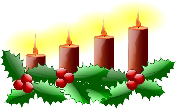 Free Clipart: Fourth Sunday of Advent | Flowers