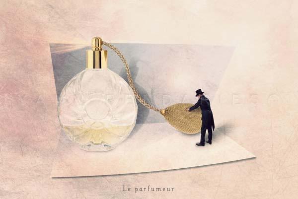 "The perfumer - Fine Art photographie 5x7"" or bigger"