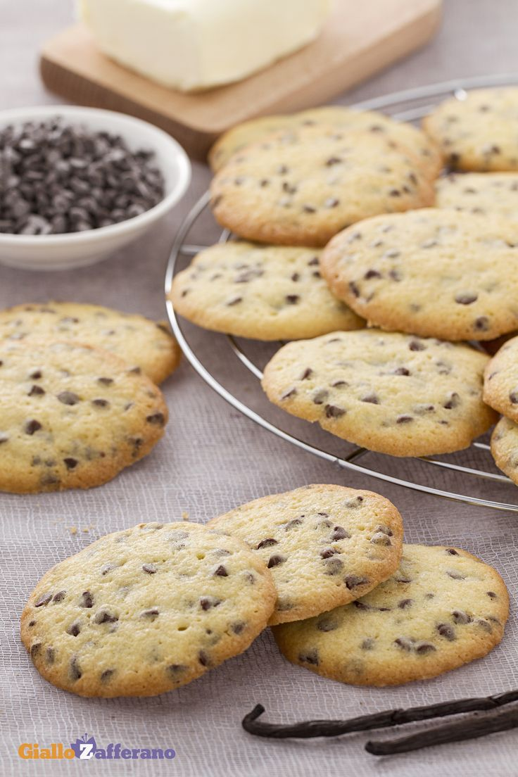 I #cookies (chocolate chip cookies) sono i classici #biscotti americani dalla…