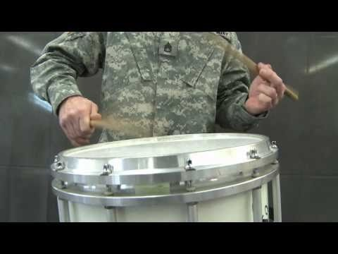 Drumming Fast Singles with Accents by SSG Jeff Prosperie