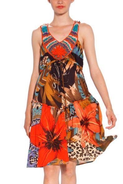 Buy Desigual Dress Selva | Canada | Europe | USA | Fun Fashion Online
