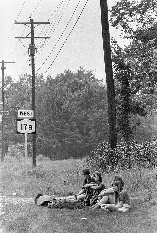 Woodstock 1969 immortalised on film by iconic photographer Baron Wolman.