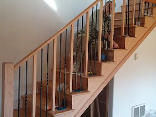 Best Like The Concept Of Alternating Wood And Iron Railing 400 x 300