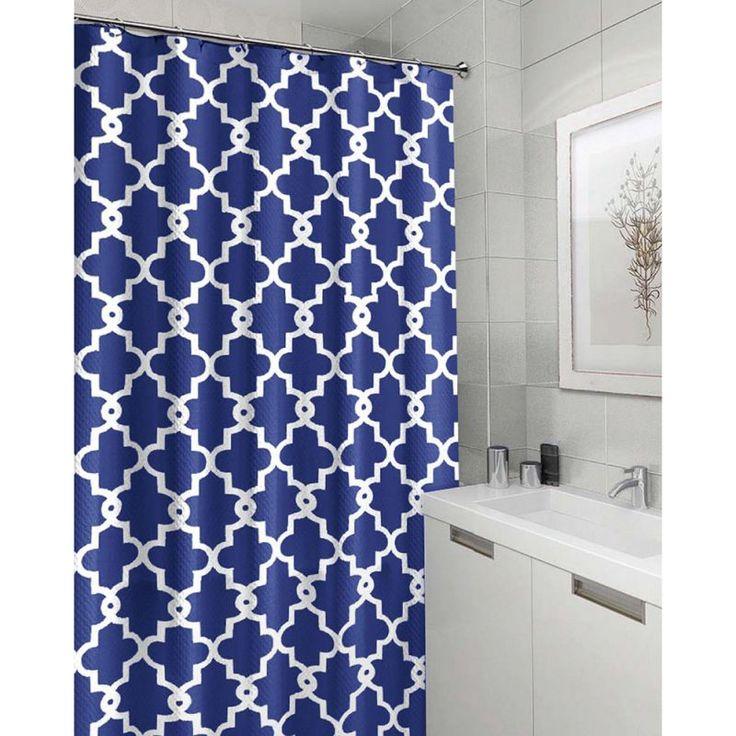 navy blue shower curtain hooks. 1pcs Modern Shower Curtains Printed Geometric Elegant Hooks  Blue Bathroom Curtain Hot Best 25 shower curtains ideas on Pinterest Double