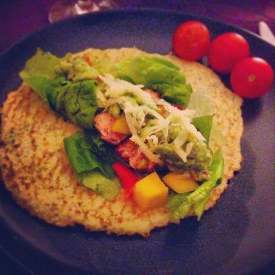 Blomkål-tortillas (LCHF/Paleo)