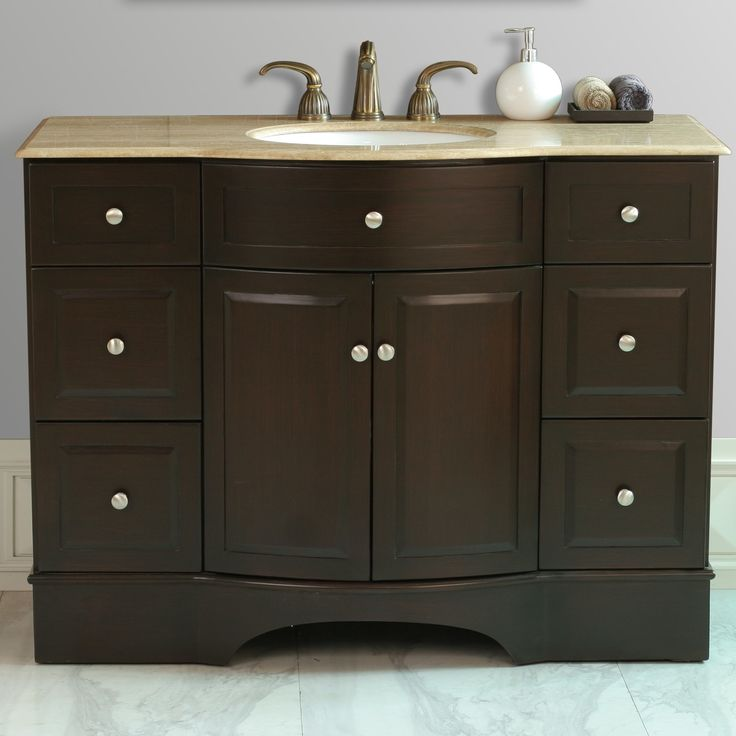 "Lotus 48"" Single Sink Vanity"