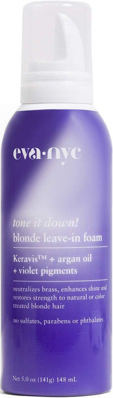Eva Nyc Tone it Down! Blonde Leave-In Foam