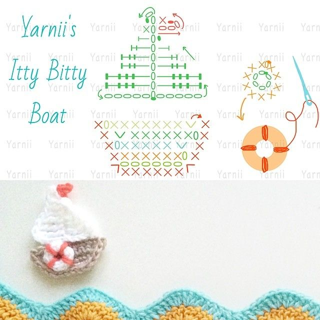 Crochet Board Applique - Chart ❥ 4U hilariafina  http://www.pinterest.com/hilariafina/