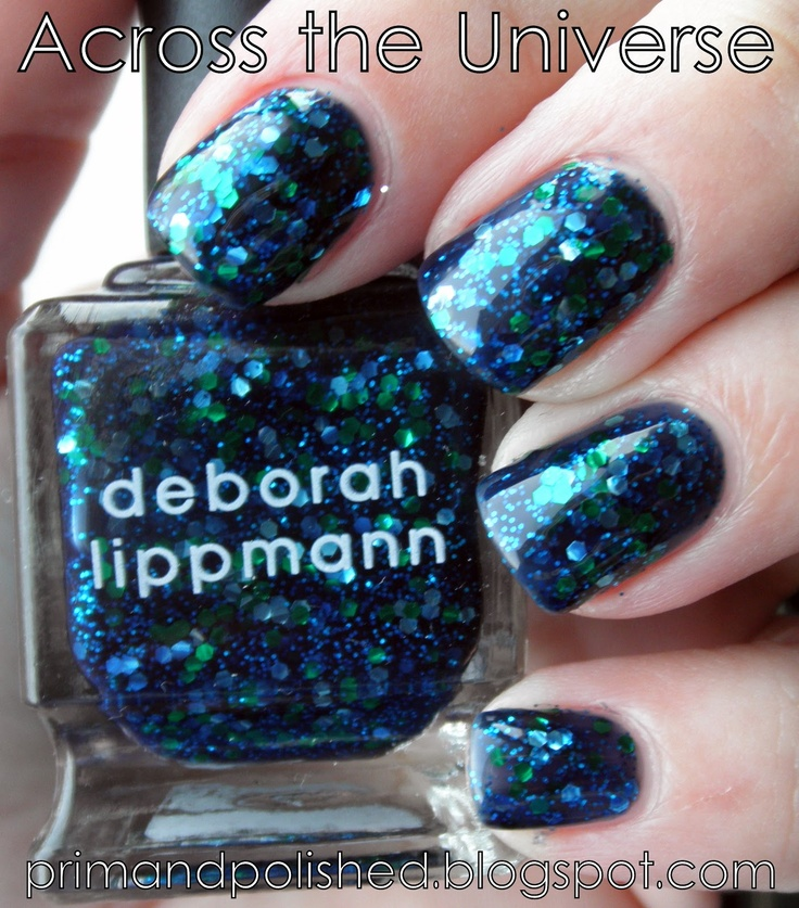 Across the Universe: Deborah Lippmann, Nails Nails, Nails Polish Art, Nails Art, Nails Design, Across The Universe, Glitter Nails, Nails Ideas, Random Pin