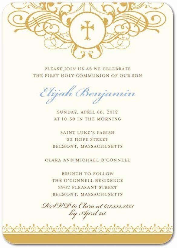 Formal Invitation Template Free New 61 formal Invitation Templates ...