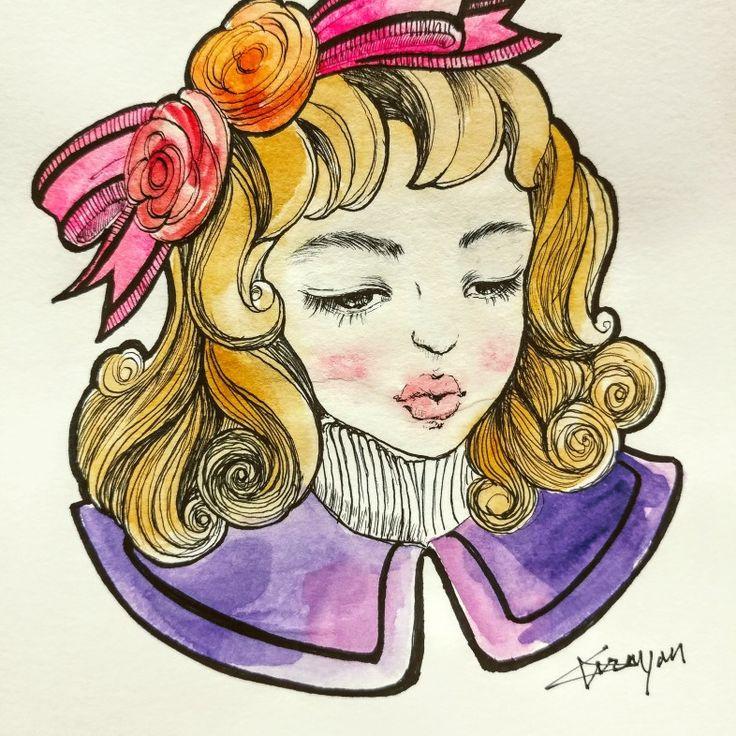 pen drawing 1 by Gryon