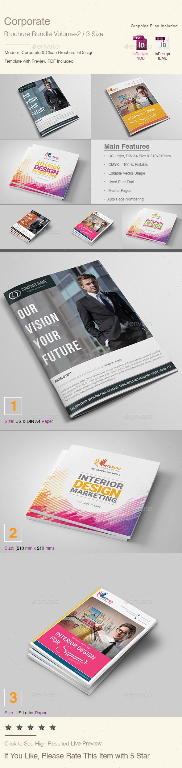 #Corporate #Brochure Bundle | Volume - 2 - Corporate Brochures