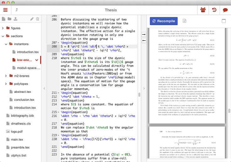 Sharelatex The Easy To Use Online Collaborative Latex