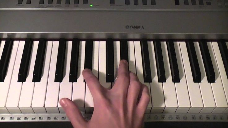 How to play Coldplay - Fix You on piano
