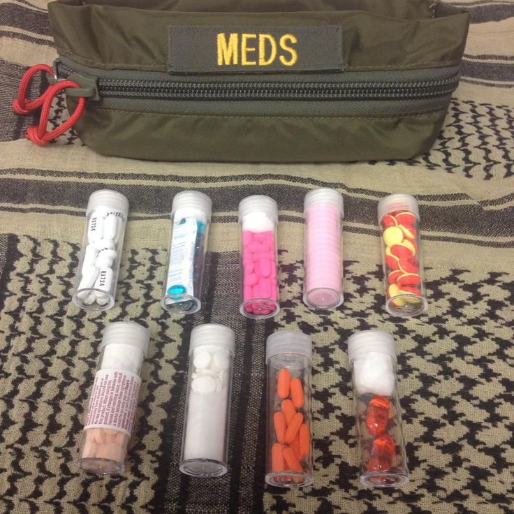 How to Repackage Over The Counter Meds for Aid Bags and Kits : ITS Tactical