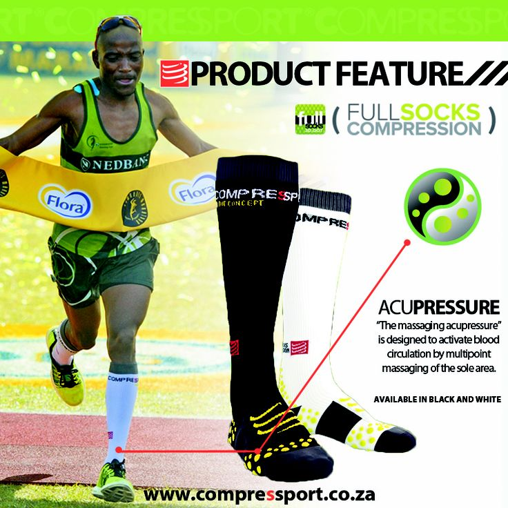 Claude Moshiywa, champion of champions running for @Craig Fry sponsored by @Compressport SA