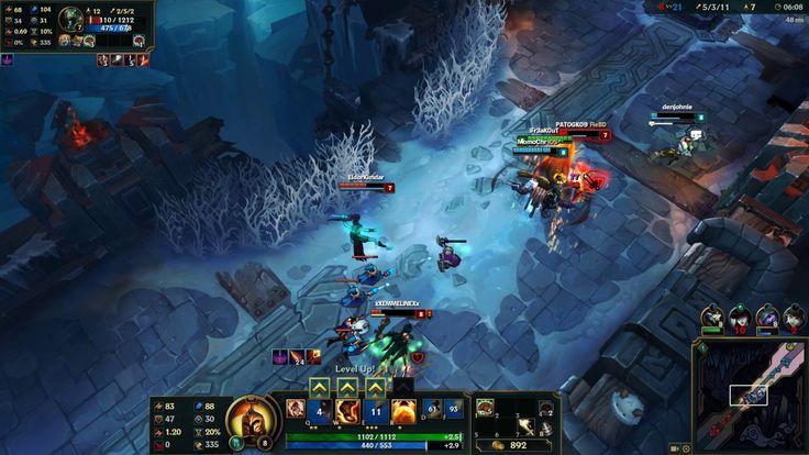 League of Legends 5v5 Aram - Kayle Gameplay