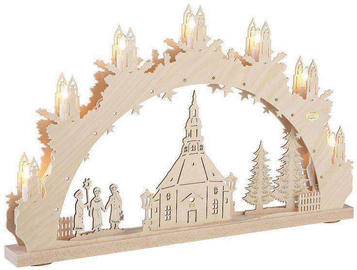 SAICO Original Lichterbogen, in 3D-Optik, »Seiffener Kirche« Jetzt bestellen unter: https://moebel.ladendirekt.de/weihnachten/weihnachtsdeko/?uid=b091d9ee-2c27-5cf0-acbc-74464bc0d43a&utm_source=pinterest&utm_medium=pin&utm_campaign=boards #leuchten #weihnachten #weihnachtsdeko