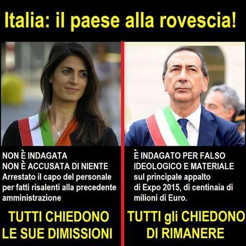 il popolo del blog,notizie,attualità,opinioni : italia il paese alla rovescia
