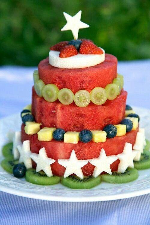 Creatief met fruit - fruittaart mijn ideale taart !!!