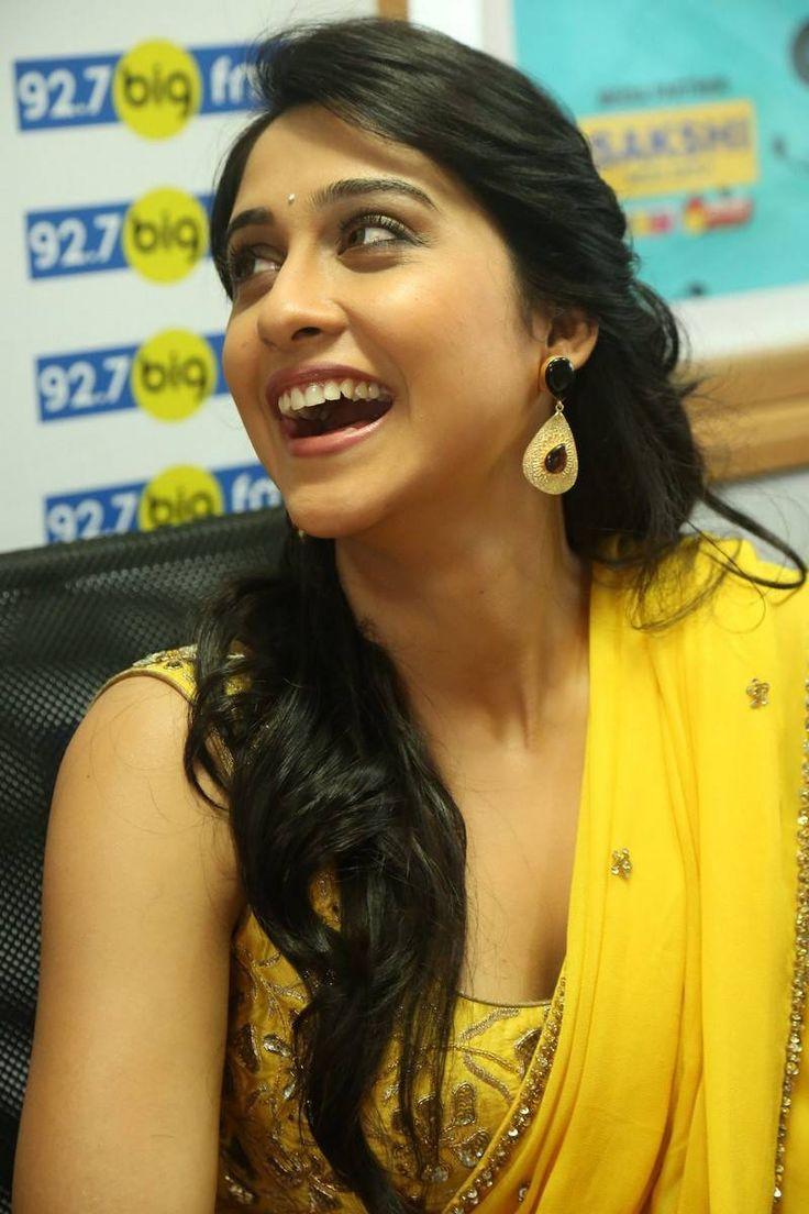 Regina Cassandra Stills in Yellow Saree at 92.7 BIG FM ~ Celebs Next