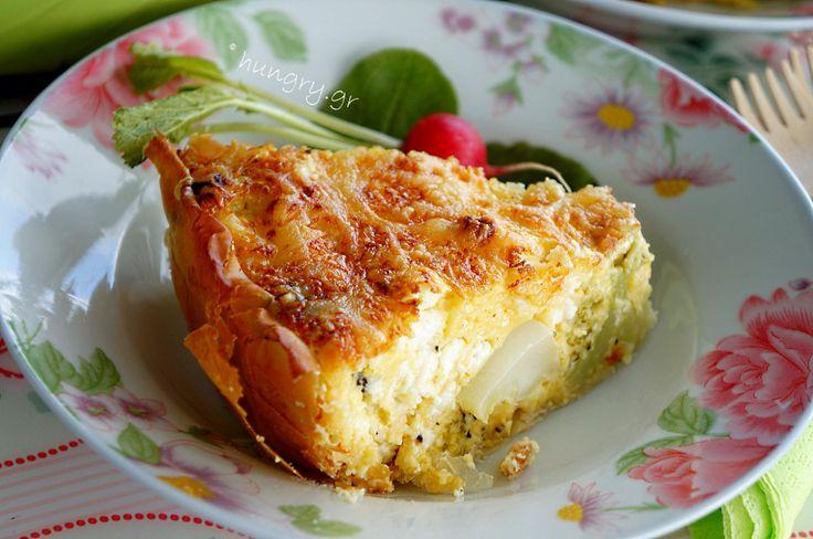 Broccoli and Feta Savory Tart
