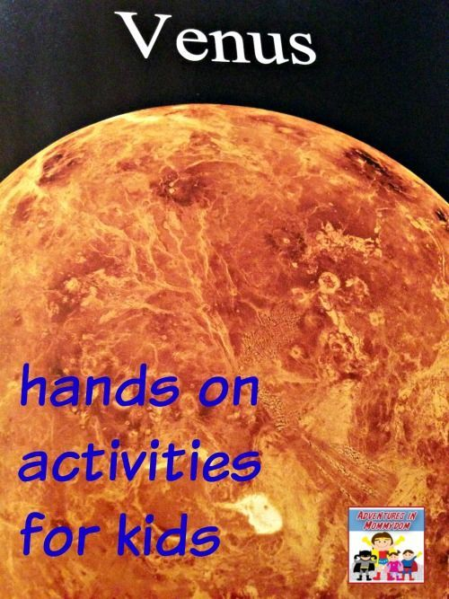 Venus activities for kids | Venus, Activities and Solar system