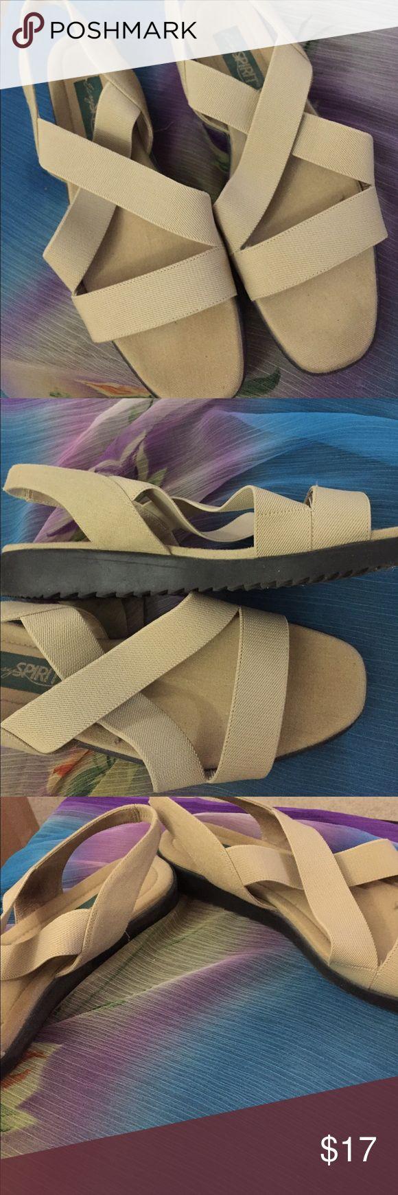 Easy spirit sandals anti-shock Great condition stretch rear strap. Easy Spirit Shoes Sandals
