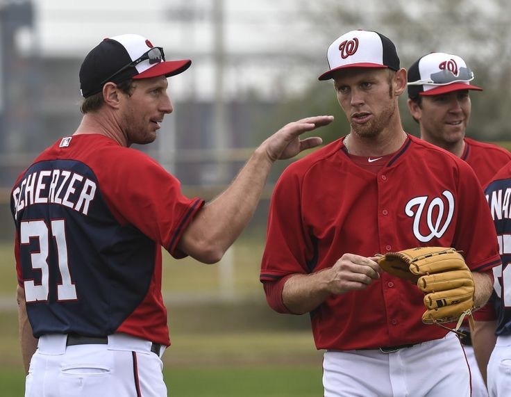 Washington Nationals pitcher Max Scherzer talks with Stephen Strasburg in Viera, FL. (Toni L. Sandys/The Washington Post)  Clayton Kershaw appears poised to regain his place among the best pitchers in baseball. Though he missed 10 weeks of the 2016 season with a herniated disc in his back,...  http://usa.swengen.com/clayton-kershaw-is-a-unicorn-but-the-nats-rotation-is-topped-by-two-thoroughbreds/