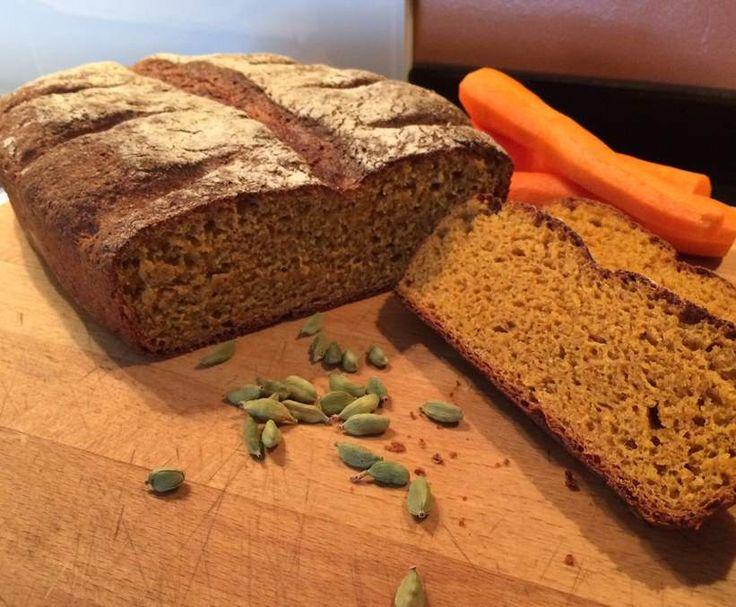 Rezept Karottenbrot - weizenfrei von Schirmle - Rezept der Kategorie Brot & Brötchen